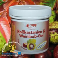 Kostanjev gel z listi rdeče vinske trte 250ml (C-1302)
