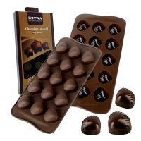 Silikonski model za izdelavo pralin - čokoladic (V-10009)
