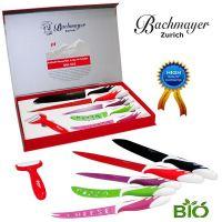 Bachmayer Zurich set nožev s keramično prevleko - 6v1 (BM-602)
