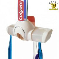 Držalo za zobne ščetke z dozatorjem zobne paste 5v1  Inovativni pripomočk KAIYI