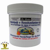 Kostanjev gel z listom visnke trte Dr. Sacher s 250 ml