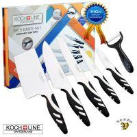 Komplet nožev s keramično prevleko Koch Line - Nož
