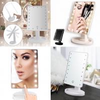 Kozmetično ogledalo z LED lučkami