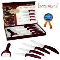 Komplet keramičnih nožev Royalty Line (RL-C4SC-PRP)