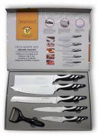 Noži 5/1 set Royalty Line Switzerland z Antibakterijsko Keramično Prevleko  (RL-WHT5C)