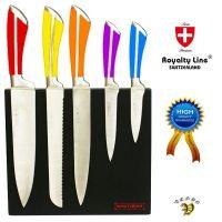 Noži iz nerjavečega jekla Royalty Line – 6 delni set več barv(RL-MG5C)
