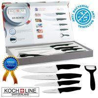 Komplet nožev s keramično prevleko Koch Line