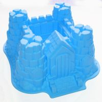 Silikonski model za torto - grad (SM-004)