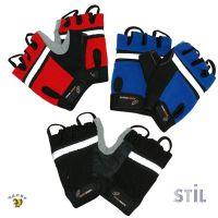 Kolesarske rokavice z usnjenim oprijemom (V-ART-A12)