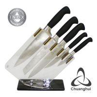 Kuhinjski noži 6/1 set Black Blade (VEN-0347)