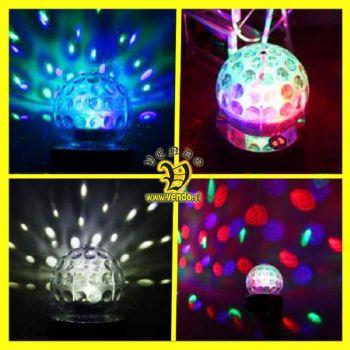 DISKO glasbena krogla - predvajalnik glasbe s svetlobnimi efekti