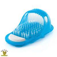 Čevelj-Copat za čiščenje nog in stopal, čistilna ščetka za noge, masager in piling za umivanje